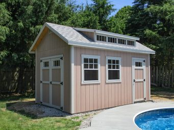 prefab pool house shed for sale in dayton ohio