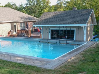 prefab pool shed for sale in dayton
