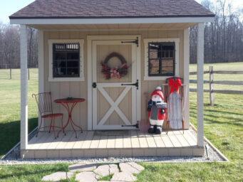 christmas theme shed shed ohio