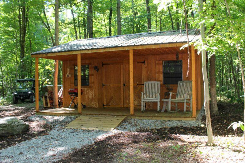 cabin shed idea columbus ohio