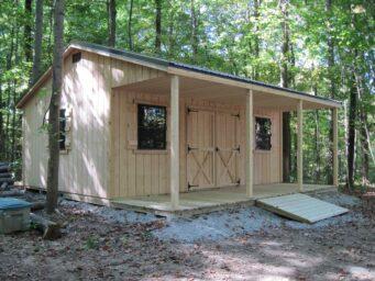 cabin shed idea franklin county ohio