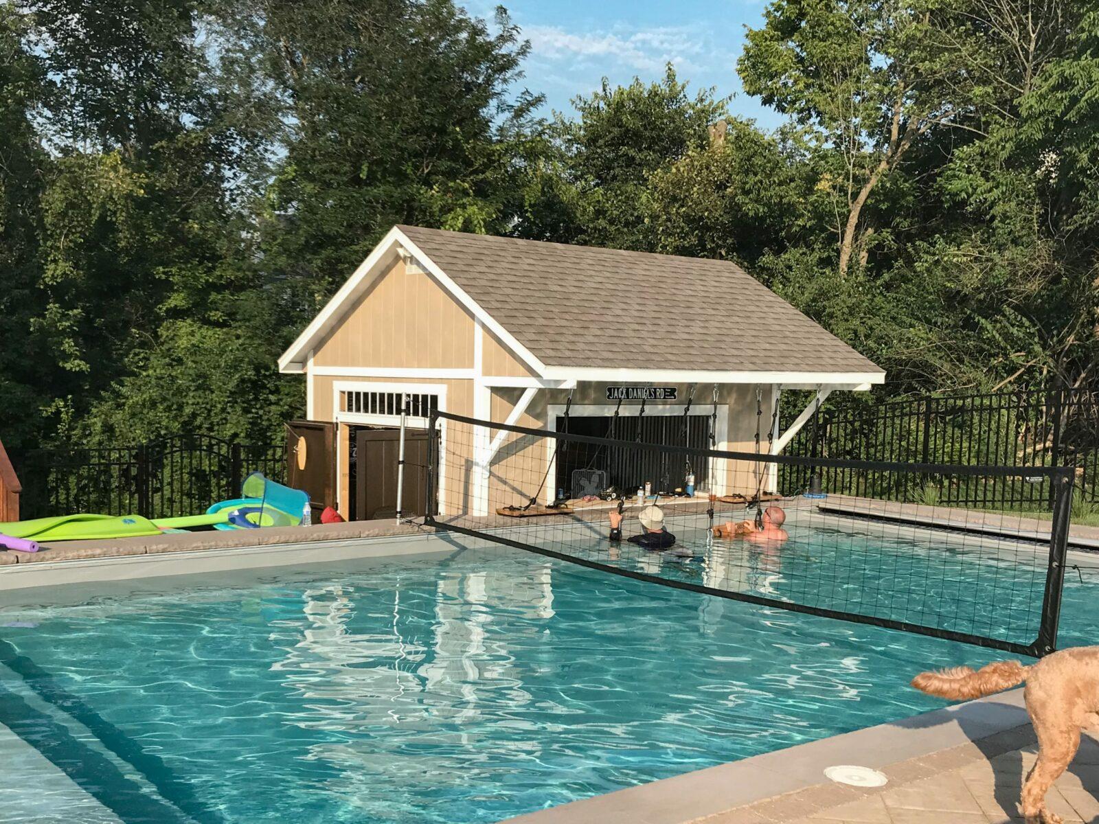 pool house shed near springfield ohio