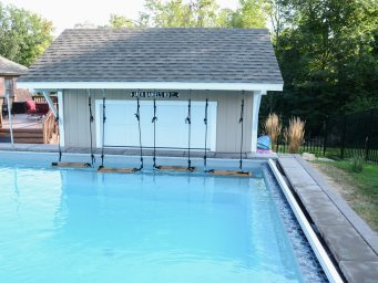 prefab pool house shed near 43085 ohio