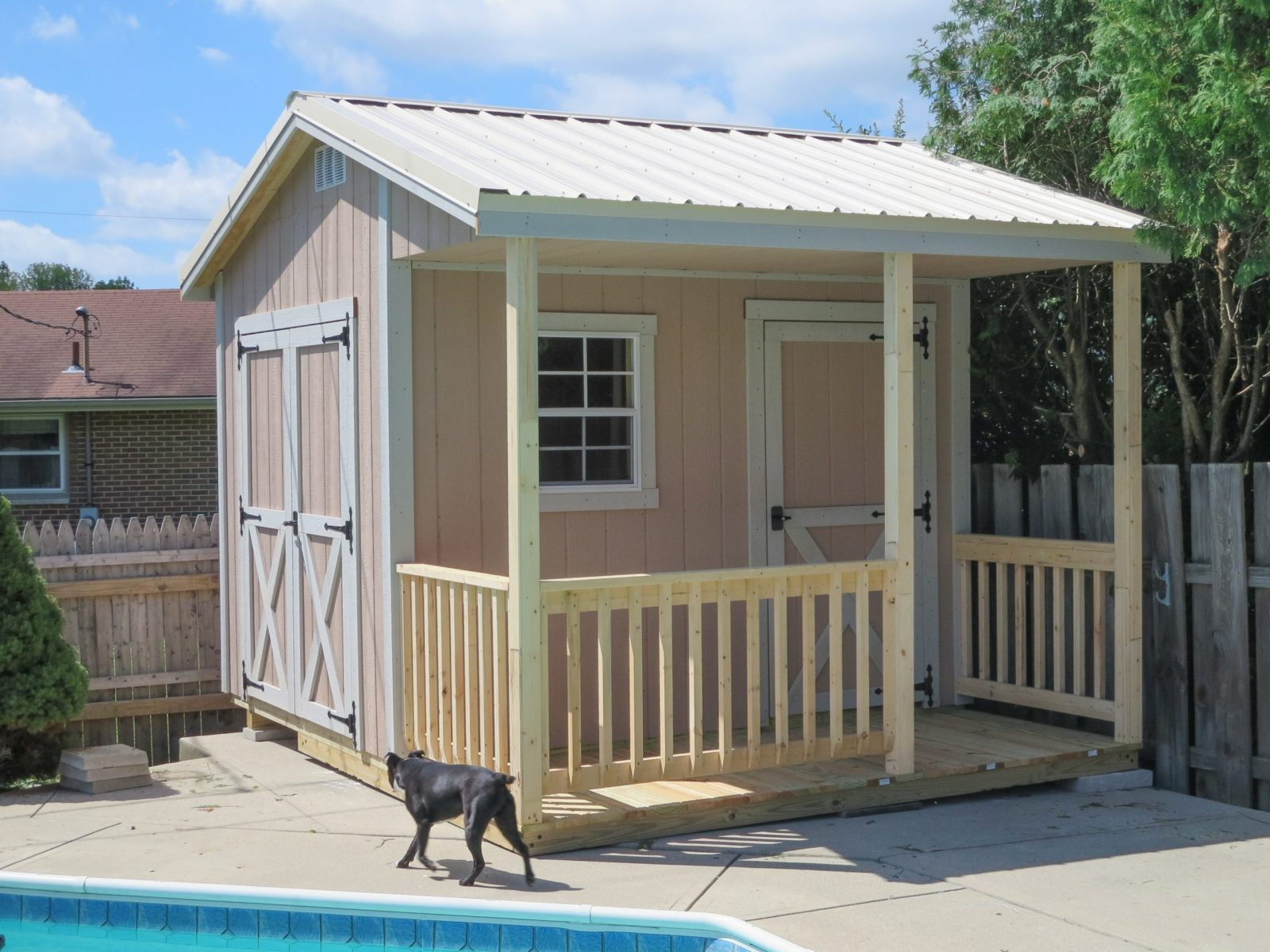 small prefab pool house for sale in columbus ohio