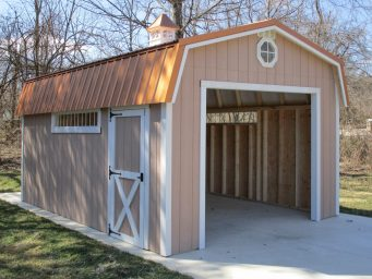 beautiful garage shed for sale with copper roof in ohio