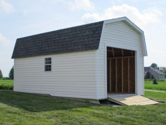garage shed with garage door for sale springfield ohio
