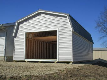 large garage shed for sale in central ohio by beachy barns