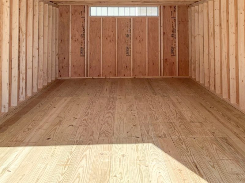 high quality garage shed floor in central ohio in central ohio
