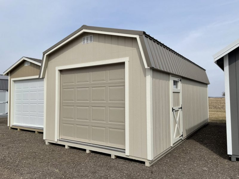 Standard Highwall garage shed floor available in Dayton Ohio