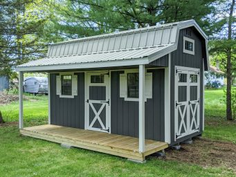 retreat shed hand built in Central Ohio