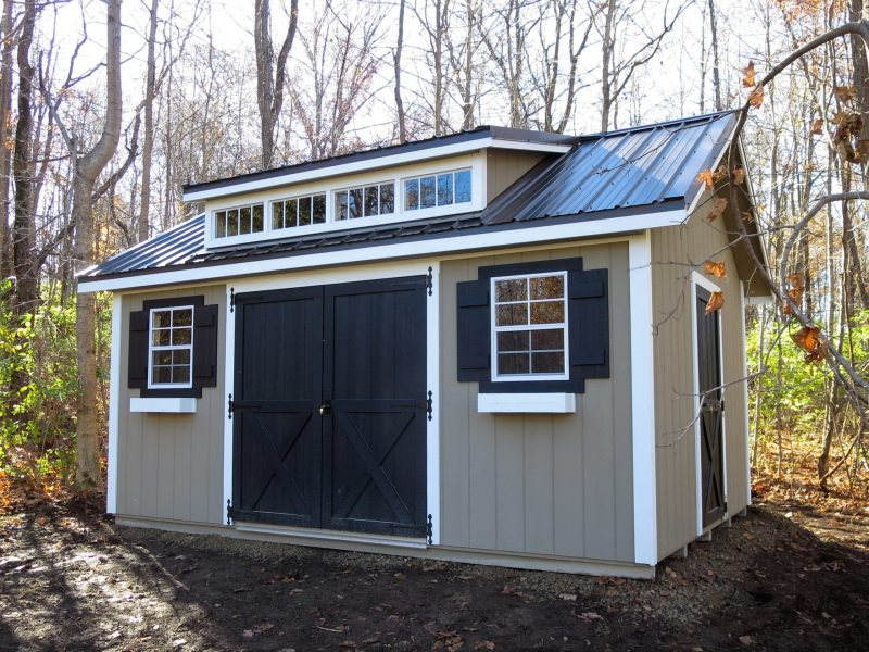 off grid tiny home prefab cabin in central ohio