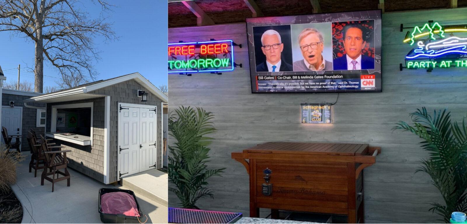 bar sheds for sale near dayton oh