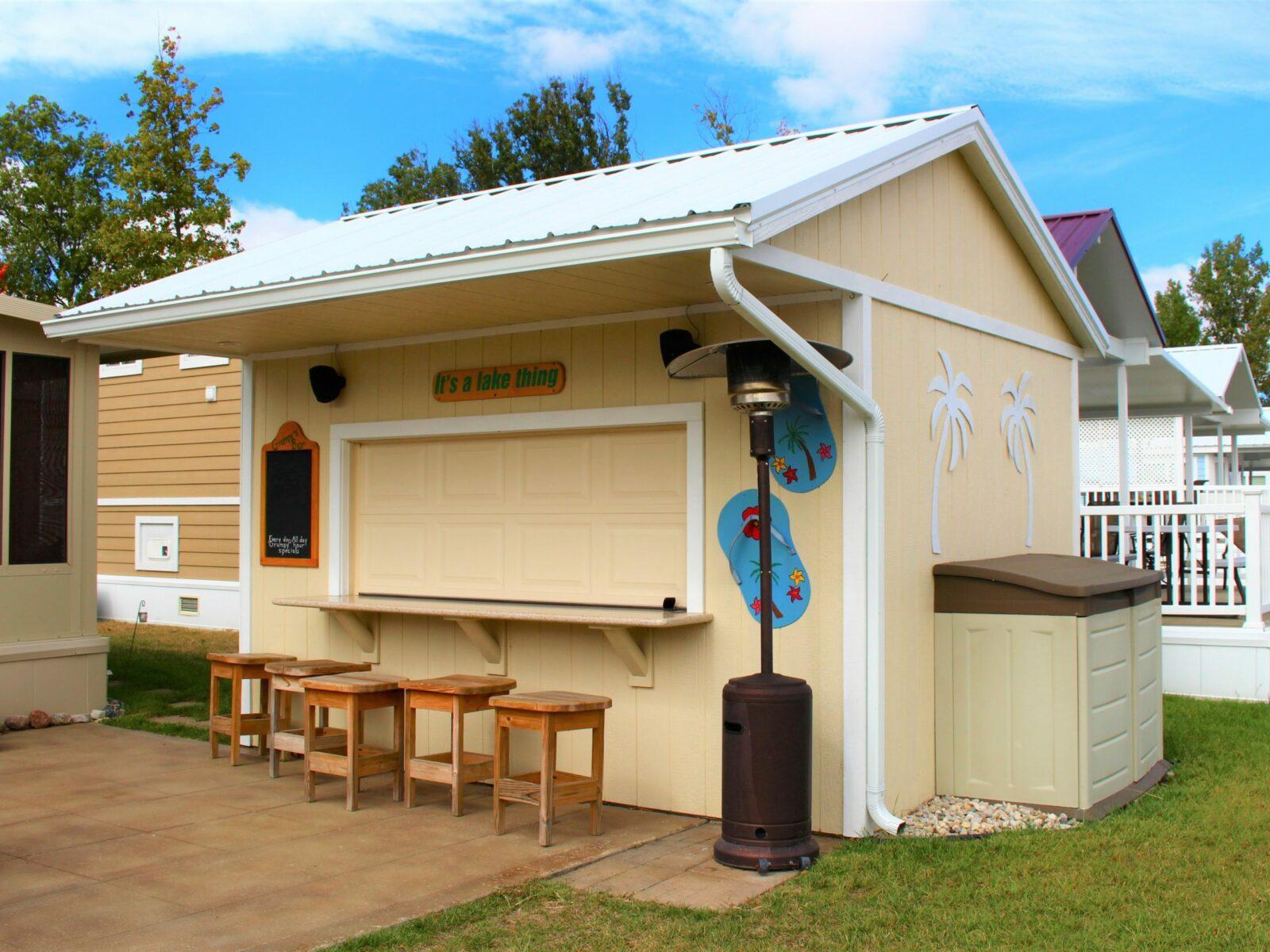 lake bar shed idea in central ohio
