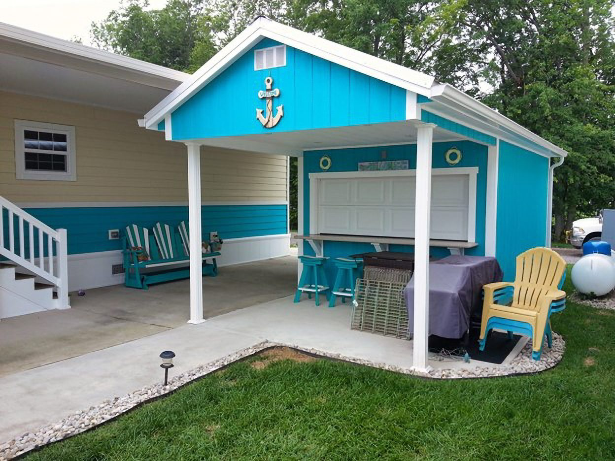 barbecue bar shed for sale near springfield ohio