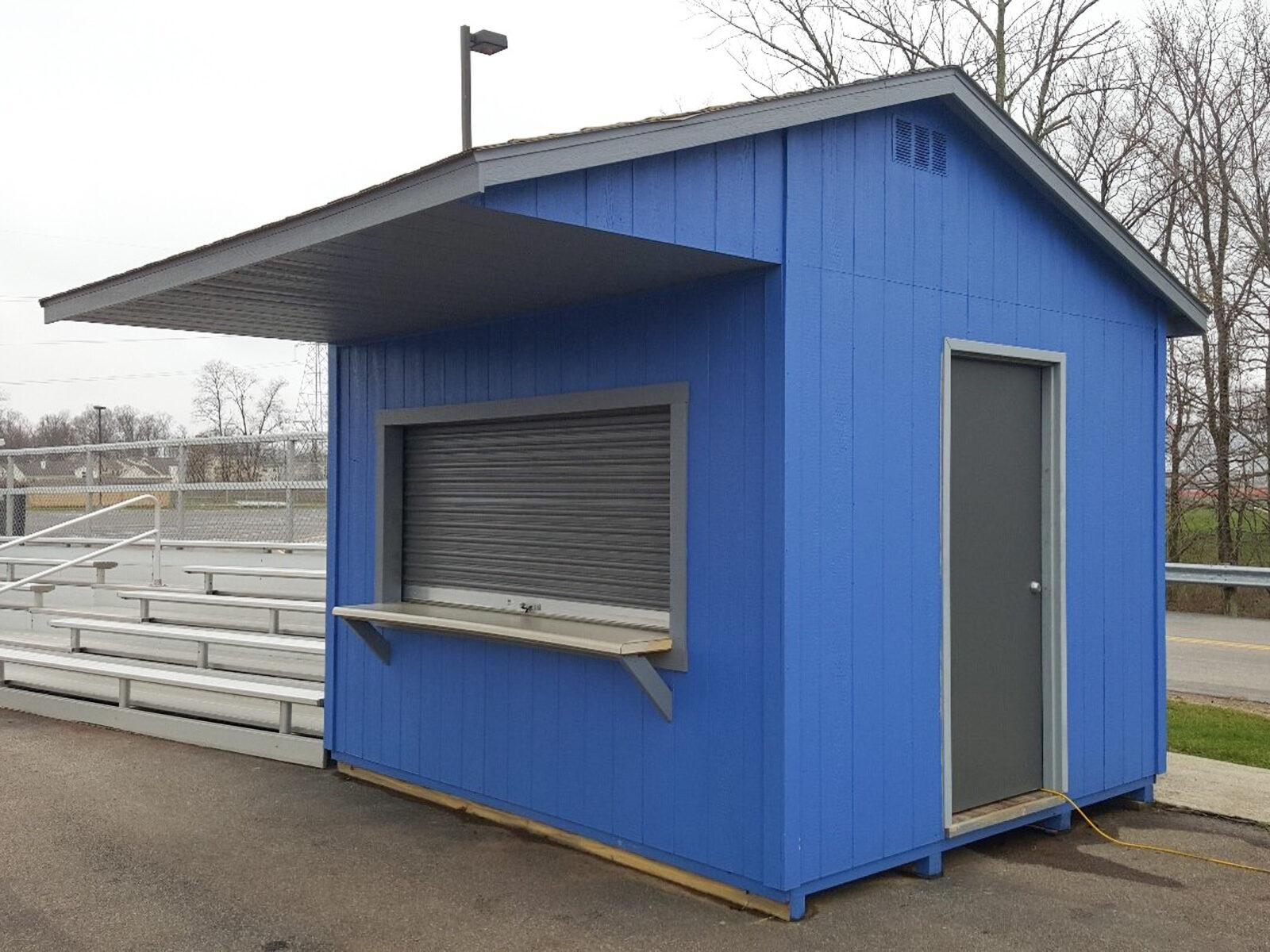 shed bar idea as a concession stand near springfield ohio