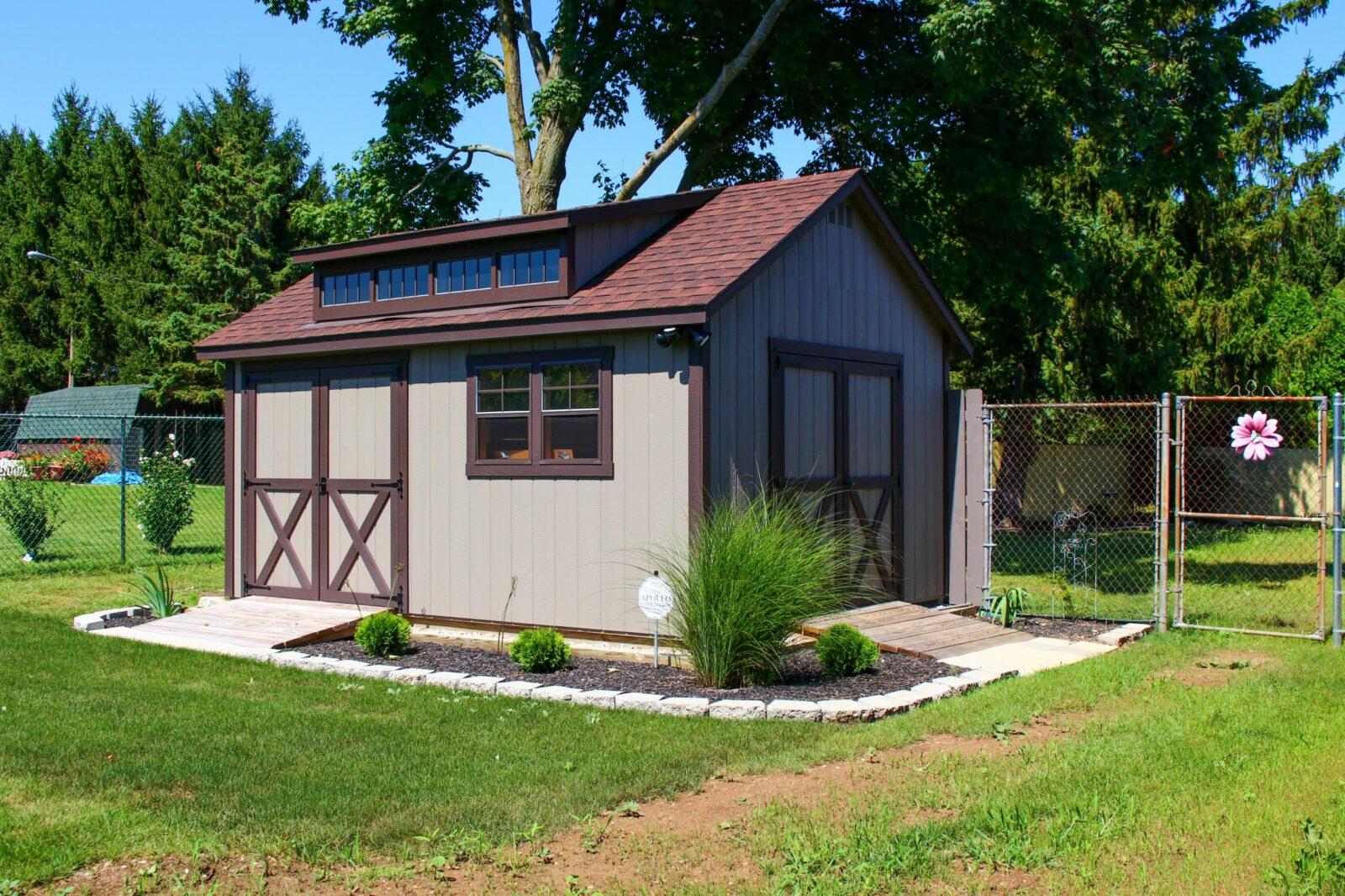 cottage style garden shed for sale near dayton ohio