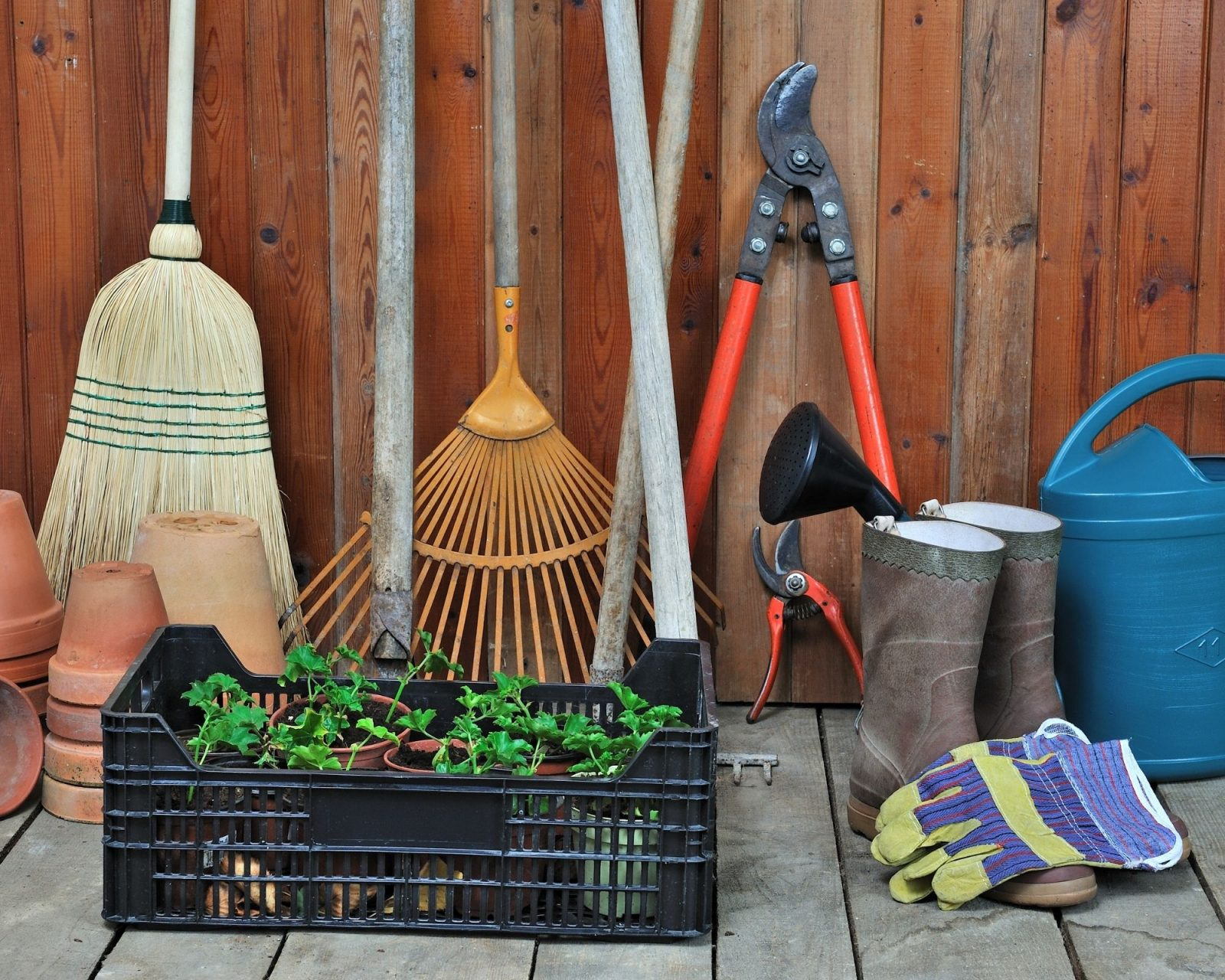 garden tool therapy