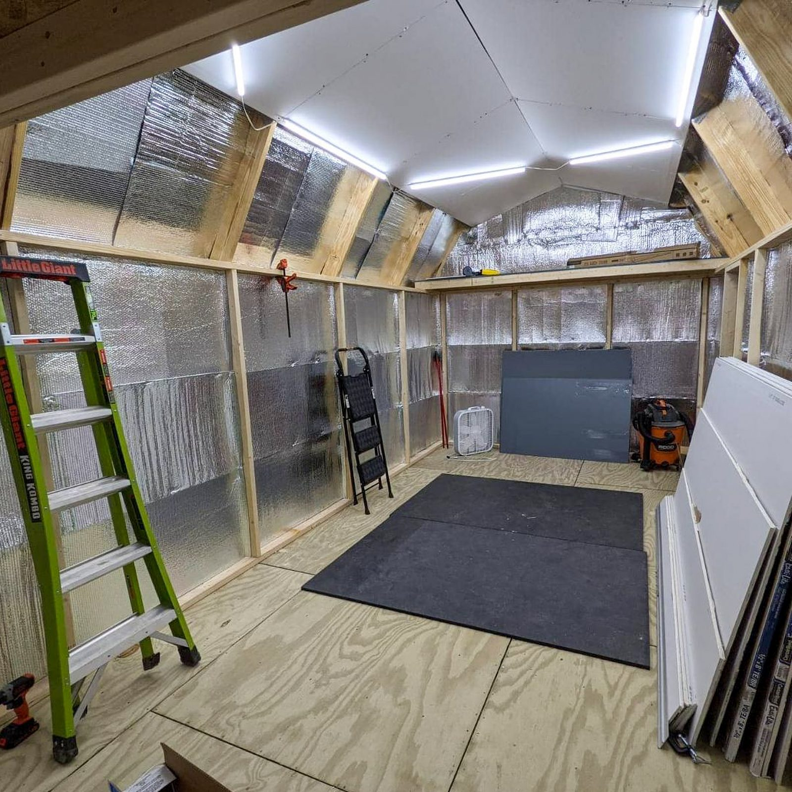 workout shed