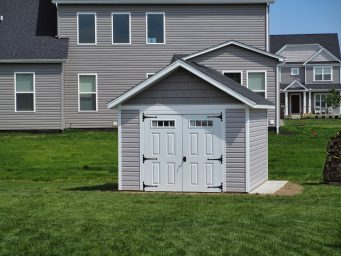 custom a frame sheds near columbus ohio
