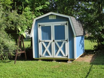 custom portable sheds rent to own near me
