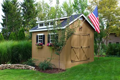 quality cottage sheds rent to own near union county ohio