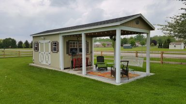 quality custom sheds rent to own near union county ohio